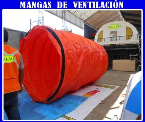 MANGAS DE VENTILACION